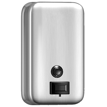 Vertical Stainless Steel Soap Dispenser