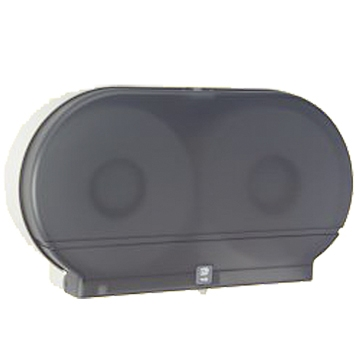 Twin Plastic Tissue Dispenser