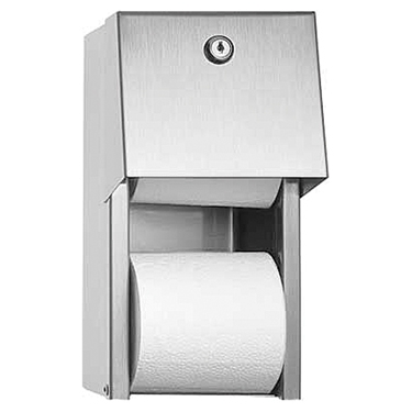 Stainless Steel double Tissue Dispenser