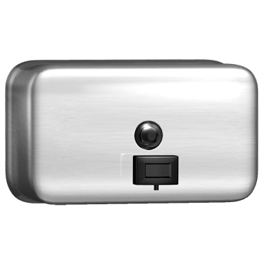 Horizontal Stainless Steel Soap Dispenser