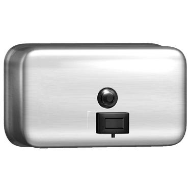 Horizontal Stainless Steel Soap Dispenser