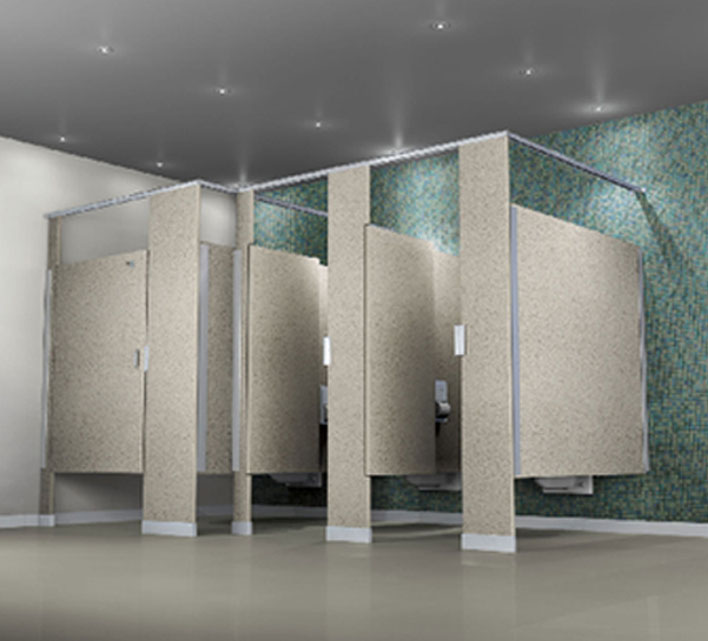 superb Trespa Toilet Partitions Part - 12: Accutec Solid Plastic Partitions