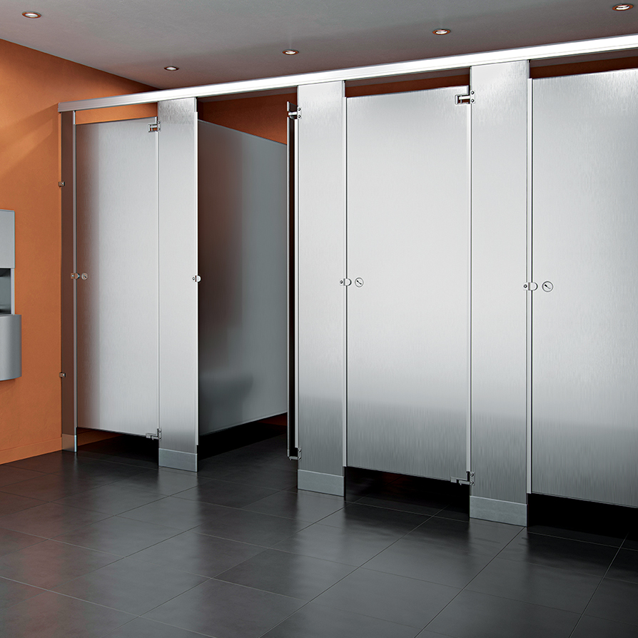 Accurate stainless steel partitions