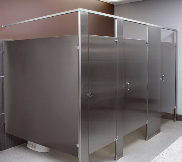 Mills Partitions And Bathroom Stalls By Bradley Corporation - Steel bathroom partitions